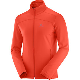 Salomon Discovery LT veste Homme, cherry to